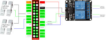 3 Door Garage by Github Andrewshilliday Garage Door Controller Software To