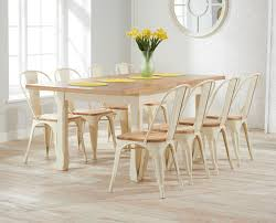 Extending Kitchen Tables by Somerset 130cm Oak And Cream Extending Dining Table With Xavier