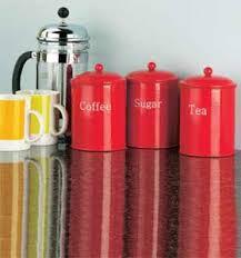 kitchen tea coffee sugar canisters tea coffee sugar canisters set of 3 co uk kitchen home