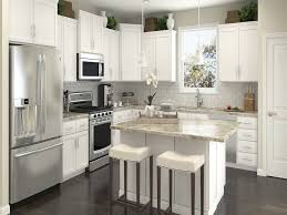 design white minimalist kitchen design dark laminate wooden floor