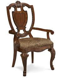 Leather Dining Room Chairs With Arms Old World Leg Dining Table A R T Furniture The Furniture
