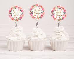 baby shower cupcake etsy