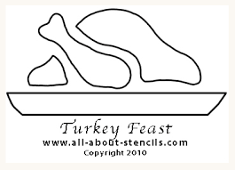 thanksgiving crafts and free stencils