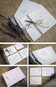 lavender wedding invitations lovely lavender wedding invitations for a rustic country wedding