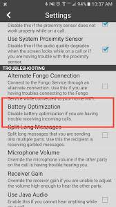 not receiving texts android missed calls and text messages on android fongo support