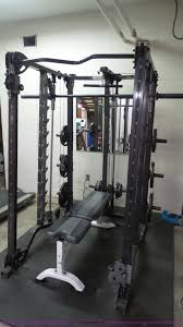 fitness gear ultimate weight machine with bench item bn955