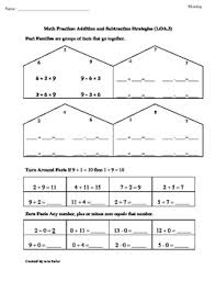 1st grade common core math worksheets 1 oa 3 addition and