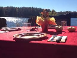 thanksgiving by the lake in muskoka www thecoverguy muskoka