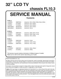 emerson lc 320em1 service manual