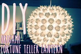 Diy Lantern Lights Diy Origami Fortune Teller Lantern