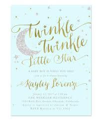 twinkle twinkle baby shower twinkle twinkle boy baby shower invitation blue