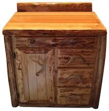 Rustic Bathroom Cabinets Vanities - cedar bathroom vanity rustic bathroom vanities and sink