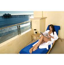 Lounge Chair Towel Covers Chair Cover Blue
