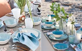 Table Scapes Tablescapes Inspired By The Sea Southern Lady Magazine