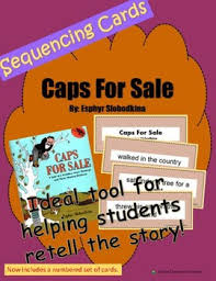 retell and sequencing cards caps for sale grades 1 or 2 tpt