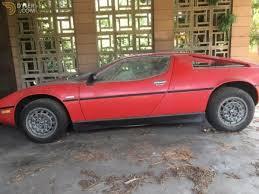 maserati merak spyder italian cars for sale dyler