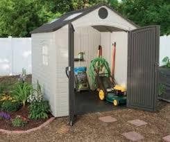 Backyard Gear Backyard Resin Storage Sheds Quality Plastic Sheds