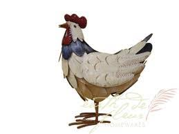 chicken garden ornament for the garden ornaments for sale uk