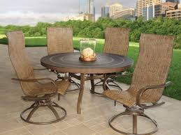 High Back Sling Patio Chairs by Interesting High Back Swivel Rocker Patio Furniture Patio Outdoor