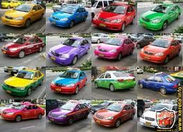 list of car paint colour code u2013 senarai kod warna cat kereta