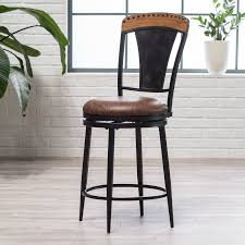 doncaster 24 in swivel counter stool hayneedle