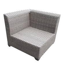Gray Patio Furniture Sets Grey Wicker Patio Table Home Outdoor Decoration
