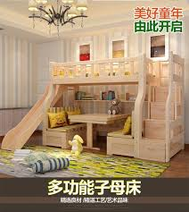 two floor bed multifunctional level bunk slide bed for children 1 5 child and