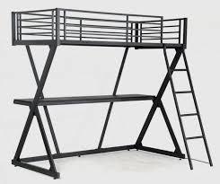 lit mezzanine noir avec bureau lit mezzanine noir avec bureau millenium 90 lestendances fr