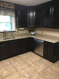 general finishes java gel stain kitchen cabinet makeover the