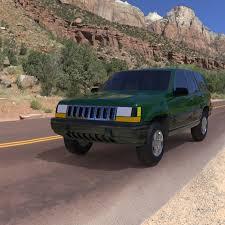 94 jeep grand jeep grand 94 for wavefront obj 3d models