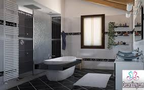 Contemporary Bathroom Decorating Ideas 18 Black And White Bathroom Decorating Ideas Bedroom Design