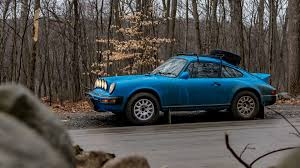 porsche rally car jump buying and owning a project safari porsche 911