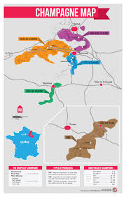 Washington Wineries Map by Champagne Map Infographic Champagne Wine And France
