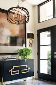 Entryway Chandelier Lighting Lighting Fabulous Entryway With Black Wooden Console Table And