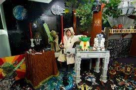 lego star wars bedroom contest nerdgasms today lego star wars celebrates may 4th by unveiling a lucky star wars comic competition winner s bedroom that has been transformed into a real life lego