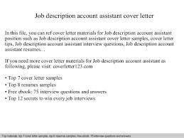job description account assistant cover letter 1 638 jpg cb u003d1409262730
