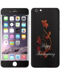 sale skin decal for apple iphone 6 plus happy thanksgiving