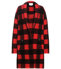 plaid ethnique chic stephanie pratt cuts a stylish figure in a red plaid coat daily
