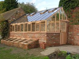 traditional wooden greenhouses gardin cour pinterest western