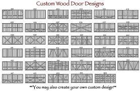 Wood Overhead Doors Custom Cedar Wood Garage Doors Dallas Fort Worthlonestar