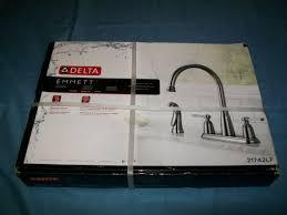 Two Handle Kitchen Faucets Delta 21742lf Sp Emmett Two Handle Kitchen Faucet With Spray