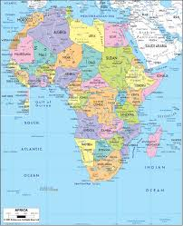 Asia Physical Map Quiz by Africa Political Map Ap Hug Maps Pinterest Africa Map And