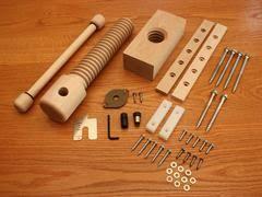 Wooden Bench Vise Screws by Workbench Leg Vise Moxon Wagon Vise Leg Vice