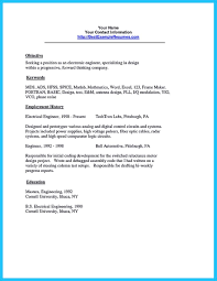 Electrical Testing Engineer Resume Crafting A Representative Audio Engineer Resume