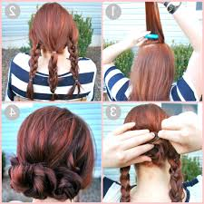 easy do it yourself formal hairstyle easy updos for short hair to