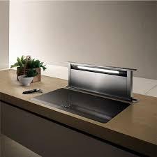 hotte cuisine verticale elica hotte escamotable adagio pour plan de travail prf0006197a