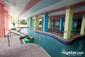 lazy river at the indoor pool at the captain u0027s quarters resort
