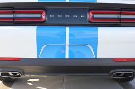 dodge challenger bumper 2015 2017 challenge rally racing stripes for dodge challenger
