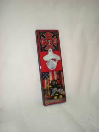 firefighter bottle opener firefighter gift firefighter