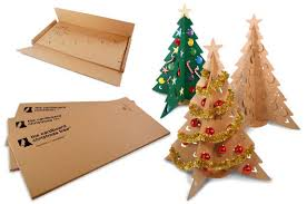 cardboard christmas tree the cardboard christmas tree inhabitat green design